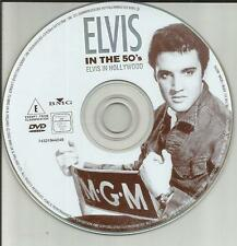 Elvis Presley - In the 50`s - Elvis in Hollywood / DVD-ohne Cover #1098