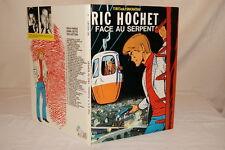 RIC HOCHET FACE AU SERPENT TIBET DUCHATEAU 1983 BD