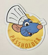 Disney World Annual Pass Holder Epcot Car Magnet 2020 Chef Remy Food & Wine NEW
