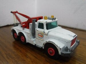 Matchbox King Size K-2 Scammell Contractor ESSO Heavy Wreck Tow Truck