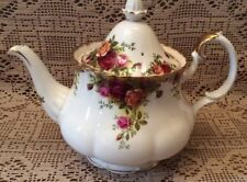 Royal albert Old Country roses Teapot Old Stamp England