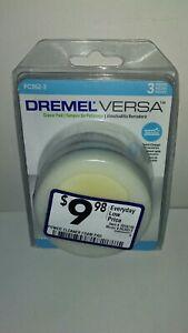 Dremel Versa Power Cleaner Eraser Pad, 3 Pack (PC362-3)