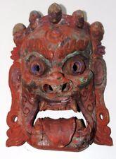 Antique Tibetan Mahakala Mask - FREE Shipping [PL3951]
