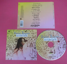 CD JASMINE THOMPSON Wonderland 2017 Europe ATLANTIC no lp mc dvd  (CS55)