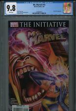 Ms. Marvel 15 CGC 9.8 Greg Horn The Initiative Iron Man New Avengers M.O.D.O.K.