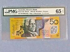 Australia 50 Dollars P-54-B 1997-99  PMG 65 EPQ