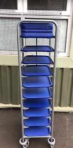 Catering Canteen Food Trolley With 26 Trays Commercial (VAT inc)