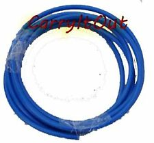 "10 mtrs : Blue Color Plastic Flexible Pipe/Tube 1/4"" For  RO/UV Water Purifiers"