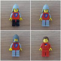 Lego Classic Castle Minifigure - Soldati, Principe (0016 383 677 6002 6077 6083)