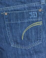 Joes Jeans Womens Juniors Rinse Wash Denim Flare blue jeans size 30 Mid Rise