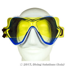 Scuba Diving Dive Fluo Yellow Mask Filter Torch Flashlight Night Dive