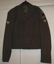 Authentic 1951 (Korean War) U.S. Army100% wool Eisenhower style jacket size 36X