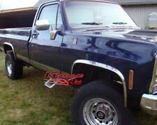 73-87 Chevy C/K CK Pickup Truck Chrome Fender Trim