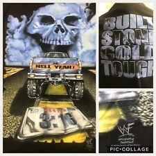 """WWF Vtg 1998 SKULL Truck BUILT Stone Cold TOUGH Steve Austin 3:16 XL 46"""" Hell Ye"""