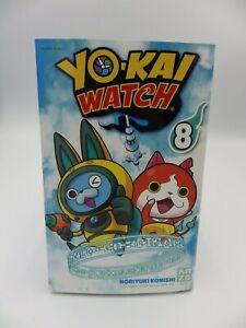 Book Manga Tome 8 Kaze Yo-Kai Watch Vers. Francaise