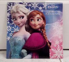 Disney's Frozen Anna And Elsa Multi-Color 2015 16 Month Calendar