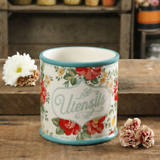 The Pioneer Woman Vintage Floral Crock 7-inch Durable Stoneware New Free Ship,