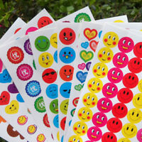 10pcs Kids Reward Stickers School Teacher Merit Praise Reward Sticker Toy TO