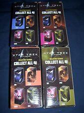 Star Trek Set of Four Promotional Glasses 2009 Spock Nero Kirk Uhura