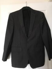 River Island Smart Dress Jacket Size 36R Grey Striped