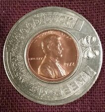 Iron Mountain-Kingsford MI Community Federal Credit Union 1972 encased cent BU