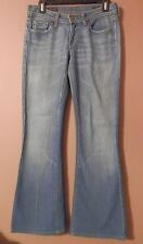 WOMENS CITIZENS OF HUMANITY NAOMI LOW RISE FLAIR LEG JEANS SIZE 27 30 X 31