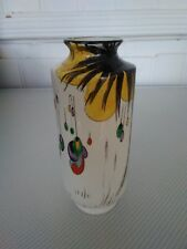Exquisite Shelley Palm-tree Pattern Vase Excellent Condition C1910-25