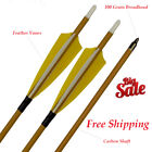 Archery Carbon Arrows Spine 500 Arrow Compound Recurve Traditional Bow Hunting