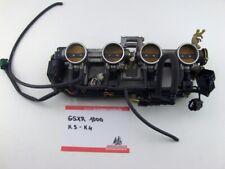 Suzuki GSXR 1000 K3 K4 Einspritzanlage Drosselklappe Einspritzung