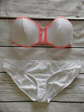 New South Beach / Ex Branded White Mix & Match Bikini Set UK Size 14  - K13