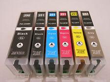 6PK PGI250 XL CLI251XL Ink For Canon Pixma MG5520 6620 MG7120 MG7520 MX722 MX922