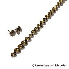 Ziernagelstreifen Ziernägel 1m 100cm altgold gefleckt