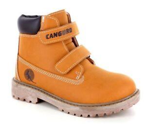 CANGURO 59401 Avec Jaune Chaussures Bottes Enfant Confortable Bande Doux