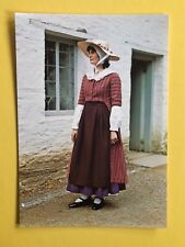 THE WELSH COSTUME COSTUME OF A DAIRYMAID 19th CENTURY MONMOUTHSHIRE POSTCARD