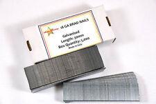18 GAUGE 40MM GALVANISED BRAD NAILS BRADS - BOX 5000
