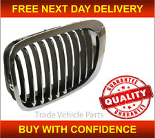 Bmw 3 Coupe Cabriolet E46 1998-02/2003 Front Left N/S Black&Chrome Kidney Grille