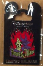 NEW Disney Pin 101149 Heroes and Villains Mickey Mouse & Maleficent LTD Release