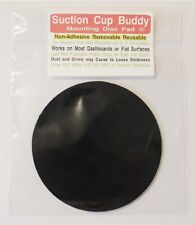 Suction Cup Buddy Non-Adhesive Dash Pad Disc for GPS and Cell Phone Mount