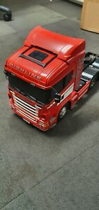 Tamiya scania r620 1/14 truck With Lights And Sound, Trailer And Radio
