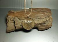 Rare Ancient  Bronze Large Antique Religion Medallion Pendant c.18-19th   #2546