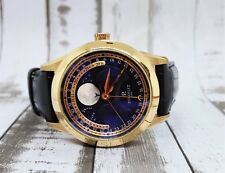 Perrelet Moonphase Men's Watch Model A3013 18K w Box & Booklet