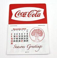Coca Cola Coke USA Kalender 2015 Calendar - Fishtail Logo weiß