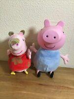 Peppa Pig & Friends Talking George &  Soft Toy Peppa Bundle Great Gift Free P&P