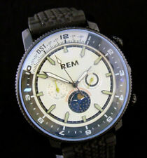 Sapphire Automatic Day/Date Just Moon Phase Wristwatch
