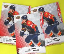 """(Lot of 3)  MICHAEL FROLIK  08-09  """" ROOKIE CLASS 2008 """" #2    Now With Flames"""
