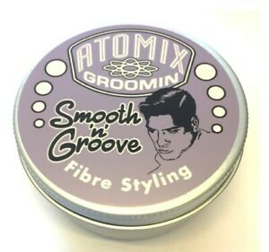 Atomix Groomin Smooth N Groove Mens Grooming Products Fibre Styling