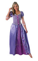 Adult Disney Rapunzel Outfit Fancy Dress Costume Princess Fairytale Tangled BN