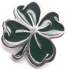 "Lucky 4 Leaf Clover Line 24 Decorative Snap Cap Silver 1-1/4"" 1265-97"