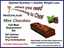 MINT CHOCOLATE BAR Weight Loss Meal Replace   1 Case   SIMILAR TO Optifast® 800
