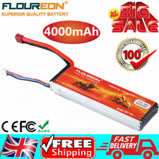 Floureon 4000mAh 2S1P 7.4V 30C LiPo Battery For RC Car Truck Truggy Airplane FPV